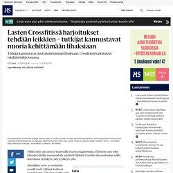 Lasten Crossfitissä harjoitukset tehdään leikkien – tutkijat kannustavat nuoria kehittämään lihaksiaan - Kuntosalit - Kotimaa - Helsingin Sanomat