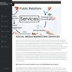Social Media Marketing Agency- Crosshairs Communication