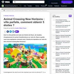 Animal Crossing New Horizons : ville parfaite, comment obtenir 5 étoiles ? - Millenium
