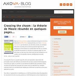 Crossing the chasm : la théorie de Moore résumée en quelques pages…