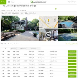 The Crossings at Holcomb Bridge Rentals - Roswell, GA