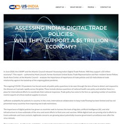 Trade at Crossroads - US-India Trade Relationship - USISPF