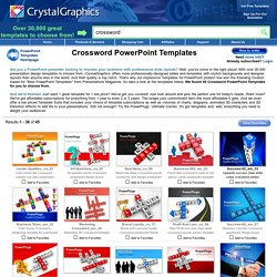 Crossword PowerPoint Templates and PPT Slides