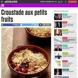 Croustade aux petits fruits