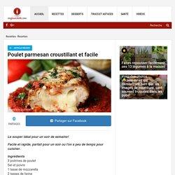 Poulet parmesan croustillant et facile - Recettes - Ma Fourchette