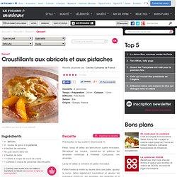 Croustillants aux abricots et aux pistaches - une recette Dessert