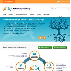 CrowdEngineering - Crowdsourcing Customer Service