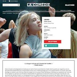 CROWD – La Comédie de Saint-Étienne