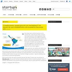 Crowdbusiness: quanto gira em um marketplace? Um estudo de caso multibilionário envolvendo brasileiros