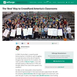 The 'Best' Way to Crowdfund America's Classrooms