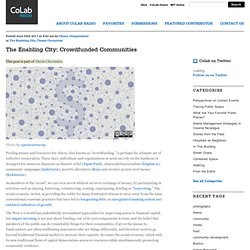 The Enabling City - Crowdfunded Communities
