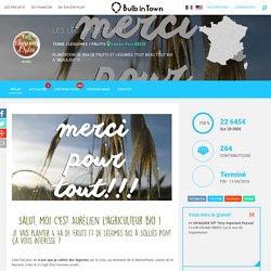 Crowdfunding Les Légumes d'Auré, à Solliès-Pont