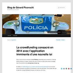 Le crowdfunding consacré en 2014 avec l'application imminente d'une nouvelle loi