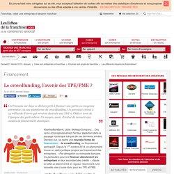 Le crowdfunding, l'avenir des TPE/PME ?