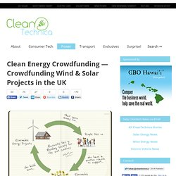 Crowdfunding Wind & Solar Projects in the UK