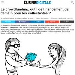 Le crowdfunding, outil de financement de demain pour les collectivités ?