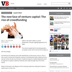 The new face of venture capital: The rise of crowdfunding | Vent