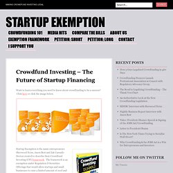 Making Crowdfunding Legal for Entrepreneurs