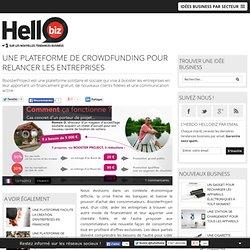 Une plateforme de crowdfunding pour relancer les entreprises