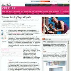 El 'crowdfunding' llega a España · ELPAÍS.com