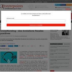 Crowdfunding : des évolutions fiscales positives