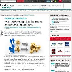 « Crowdfunding » à la française : dernière ligne droite pour le débat