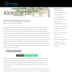 Top Crowdfunding Sites for Fundraising - Crowdfund Center