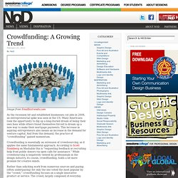 Crowdfunding: A Growing Trend | Notes on Design