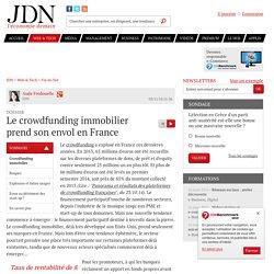 Le crowdfunding immobilier prend son envol en France