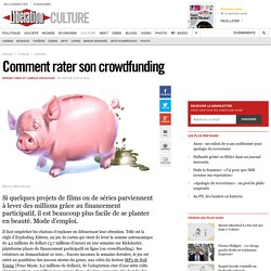 Comment rater son crowdfunding