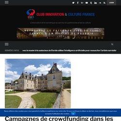 Campagnes de crowdfunding dans les lieux de patrimoine français achevées en 2019 : 78 496 € collectés et 5 campagnes réussies (31/01/2019) – Club Innovation