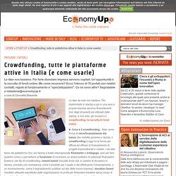 Crowdfunding, tutte le piattaforme attive in Italia (e come usarle)