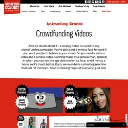 Crowdfunding Animated Video Film Production - Animation Cowboy