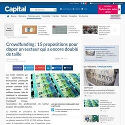 Crowdfunding : 15 propositions pour doper un secteur qui a encore doublé de taille