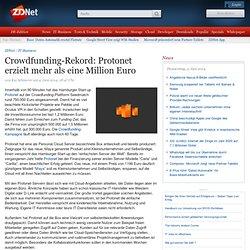 Crowdfunding-Rekord: Protonet erzielt mehr als eine Million Euro