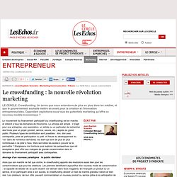Le crowdfunding : la nouvelle révolution marketing