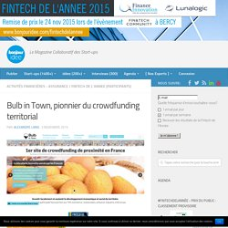 Bulb in Town, pionnier du crowdfunding territorial