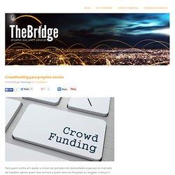 Crowdfunding para projetos sociais