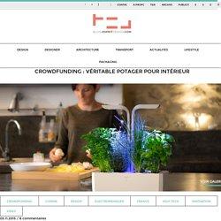 Crowdfunding : Véritable Potager pour intérieur