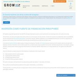 Crowdlending, inversión como fuente de financiación para pymes - GROW.LY