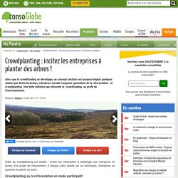 Crowdplanting : incitez les entreprises à planter des arbres