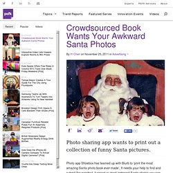 Crowdsourced Book Wants Your Awkward Santa Photos