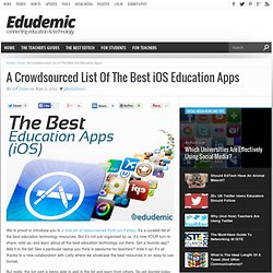 The Best Education Apps For iOS
