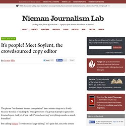 It's people! Meet Soylent, the crowdsourced copy editor