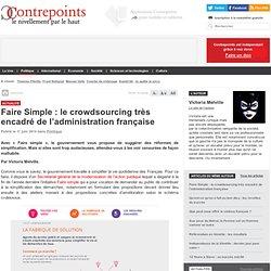 Faire Simple : le crowdsourcing très encadré de l'administration française