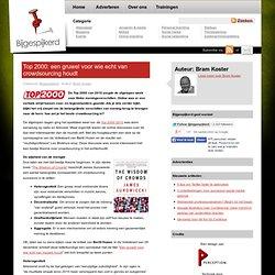 » Top 2000: een gruwel voor wie echt van crowdsourcing houdt