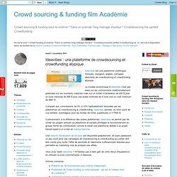 une plateforme de crowdsourcing et crowdfunding atypique
