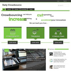 First directory of community crowdsourcing projects launches today | The Daily Crowdsource - #1 site for crowdsourcing news