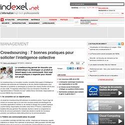 Crowdsourcing : 7 bonnes pratiques pour solliciter l'intelligence collective