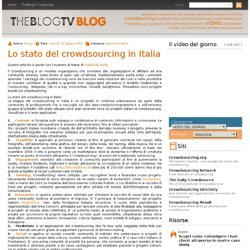 Lo stato del crowdsourcing in Italia